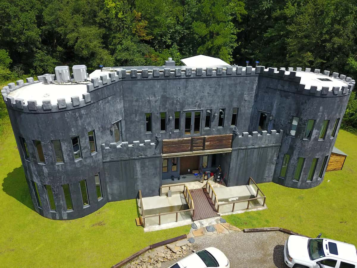 covington castle rental on airbnb