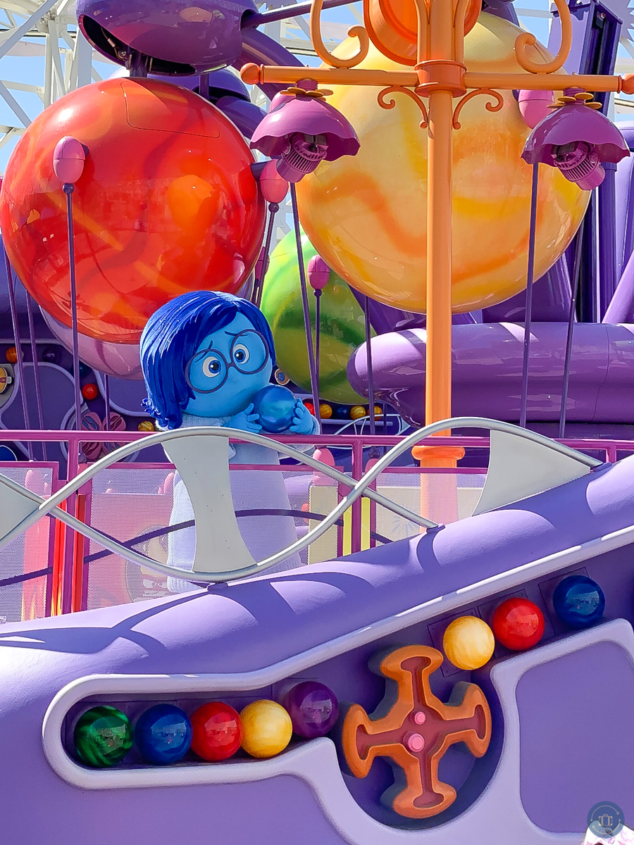 sadness inside out disney character at touch of disney event