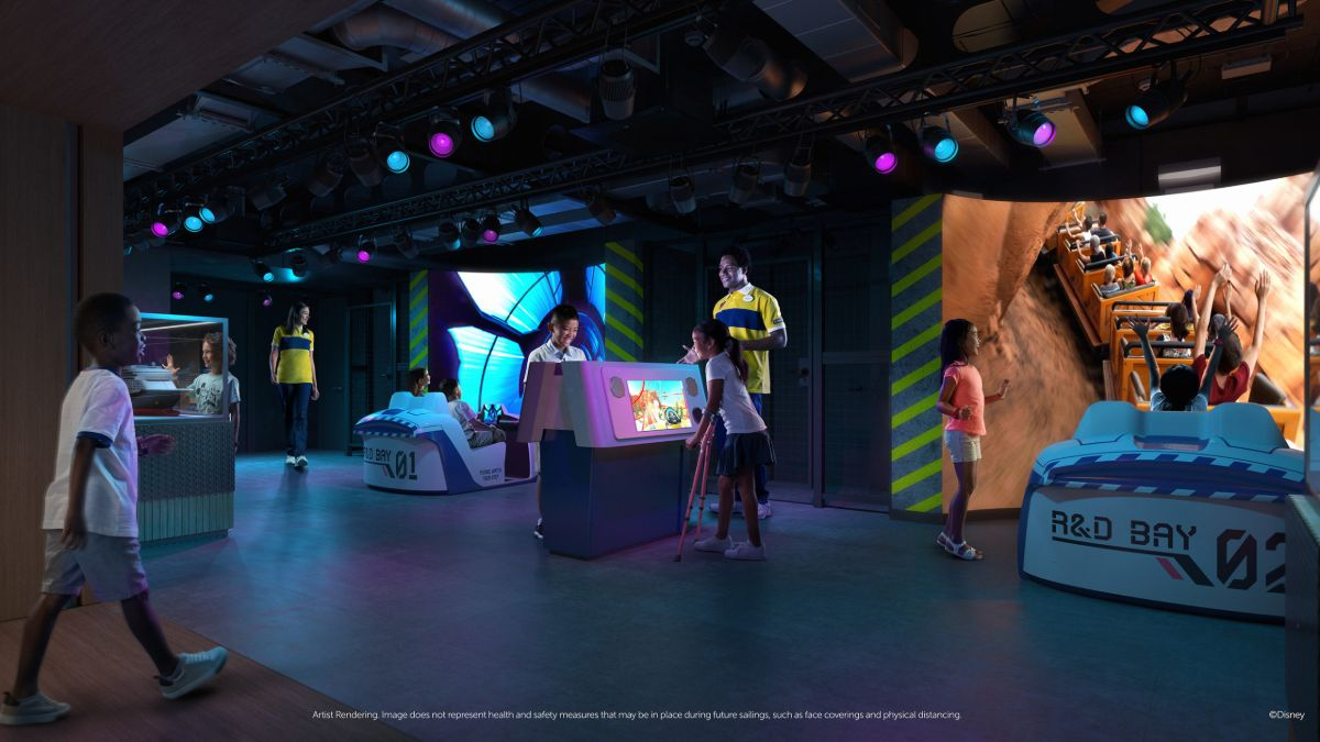 Imagineering Lab on Disney Wish Oceaneer Clue