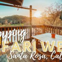 safari west in santa rosa title text image