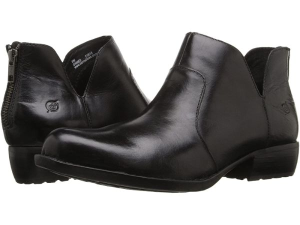 born kerri black ankle boots