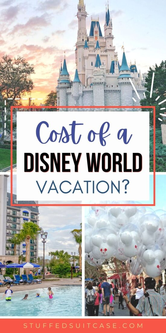 photo collage cost of a disney world vacation