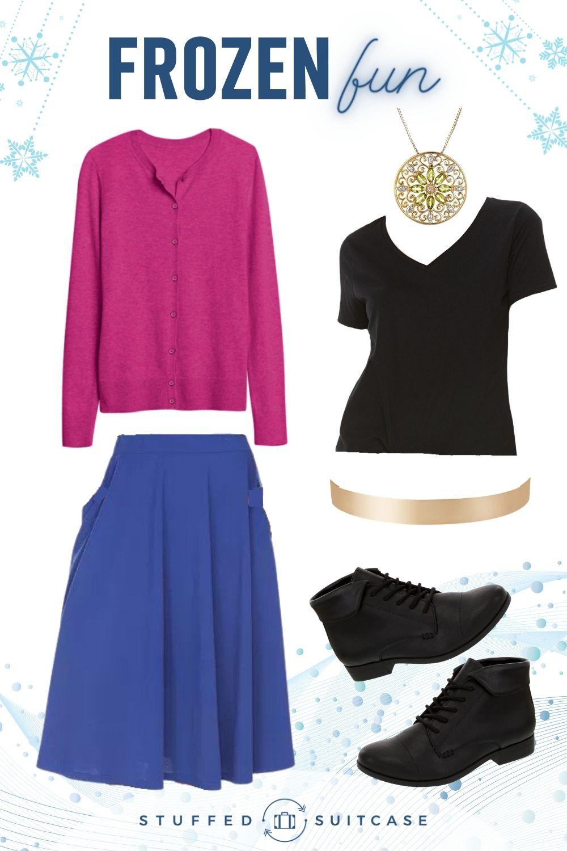 disney bounding outfit anna frozen