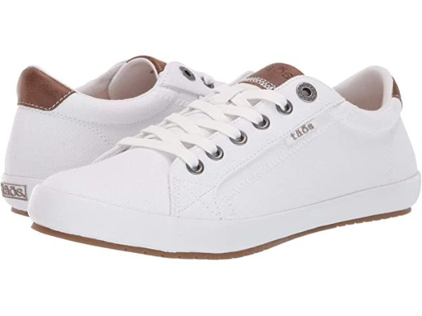 white taos shoes for travel