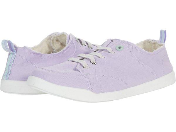 purple vionic tennis shoes