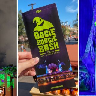 oogie boogie bash party collage