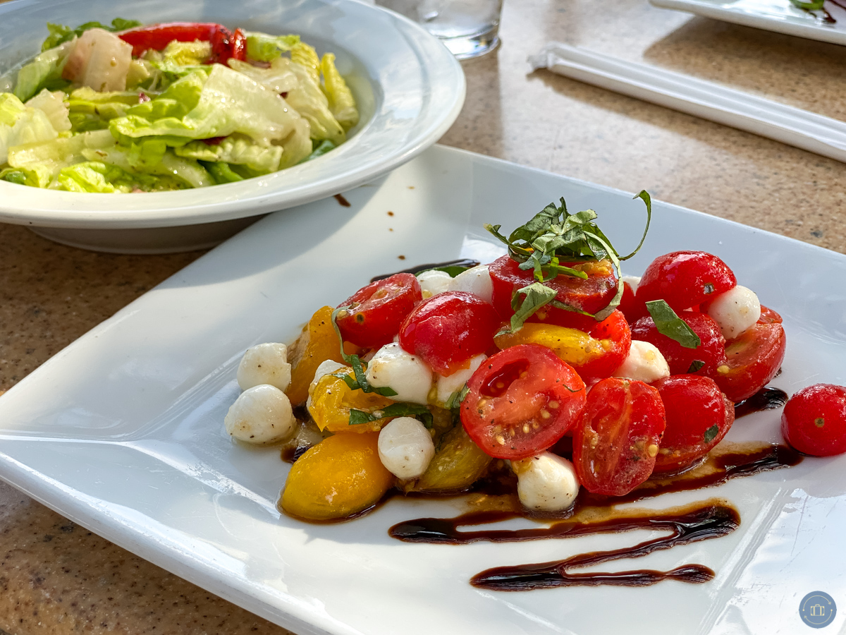 disneyland wine country trattoria salads