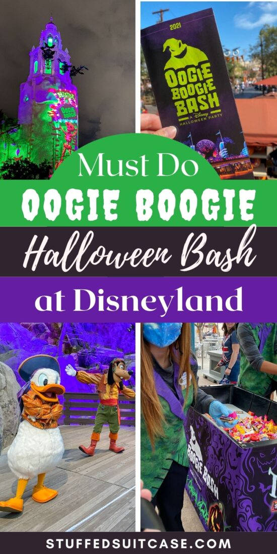 collage for oogie boogie bash halloween party